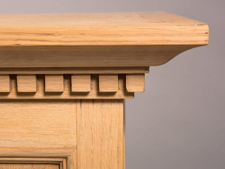 Neoclassical Style Raw Oak Pedestals 7