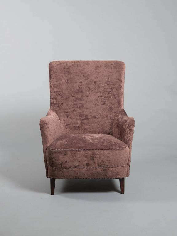 Pair of Danish Lounge Chairs in the Style of Carl Gustav Hiort af Ornäs 4