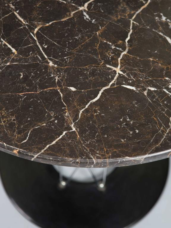 Isamu Noguchi Cyclone Table with Custom Black Marble Top 2