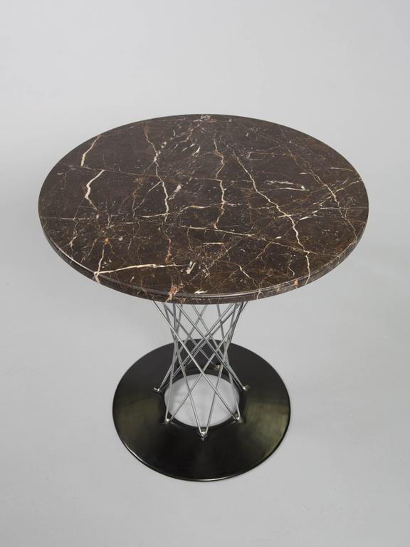 Isamu Noguchi Cyclone Table with Custom Black Marble Top 6
