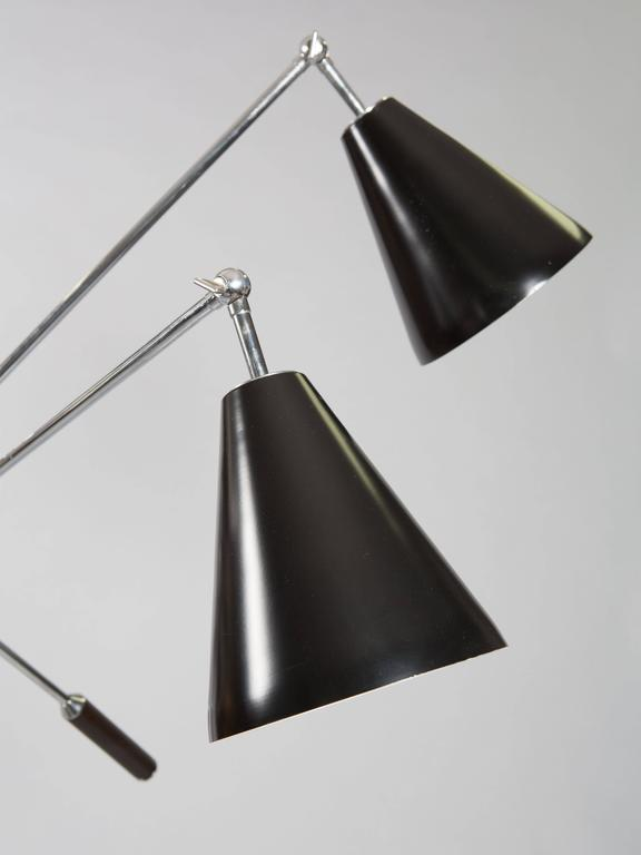 Mid-20th Century Triennale Floor Lamp, after a model by Arredoluce, circa 1967 For Sale