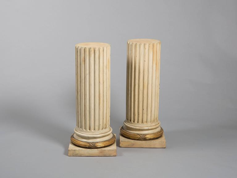 Pair of Classical Fluted Columns 2