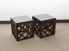 Pair of Mid-Century Accent Tables