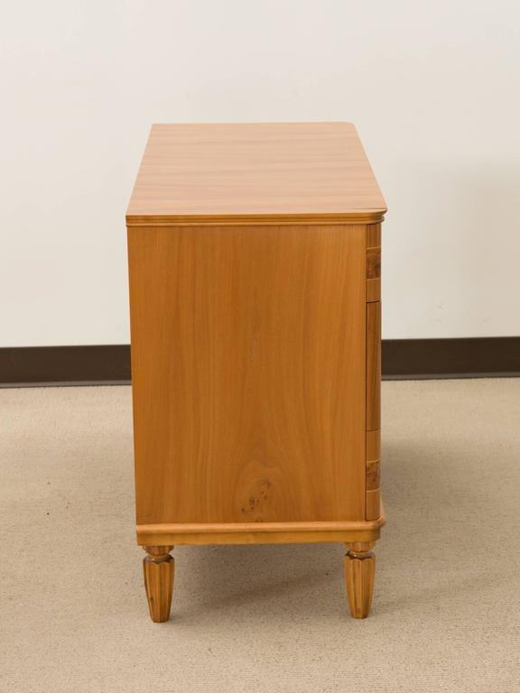 Art Deco Danish Three-Drawer Commode For Sale 2