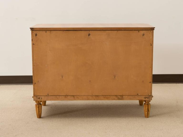 Art Deco Danish Three-Drawer Commode For Sale 4