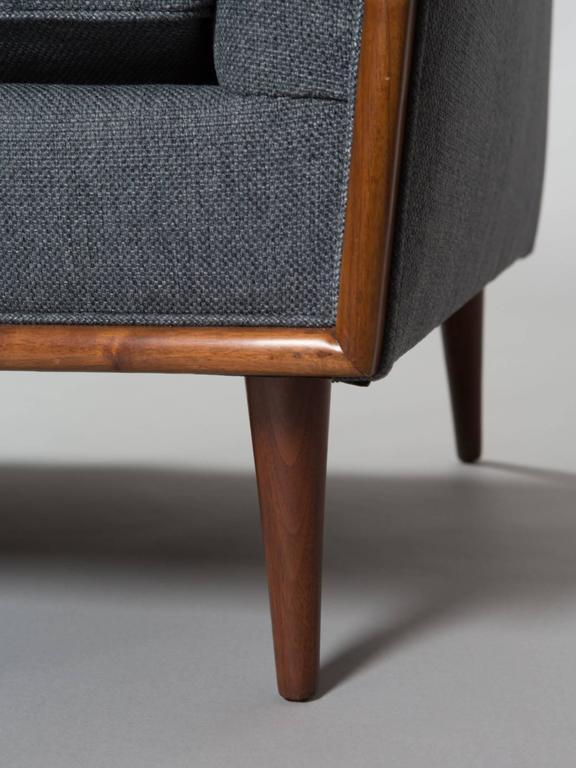 Robsjohn-Gibbings Style Mid-Century Modern Settee For Sale 1