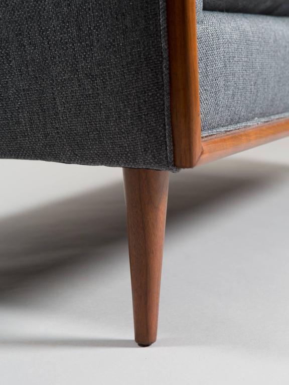 Robsjohn-Gibbings Style Mid-Century Modern Settee For Sale 4