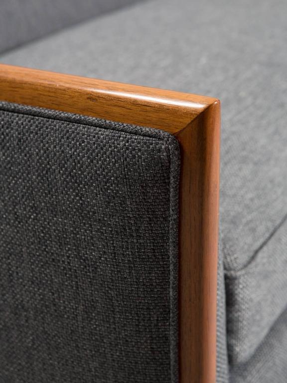 Robsjohn-Gibbings Style Mid-Century Modern Settee For Sale 2