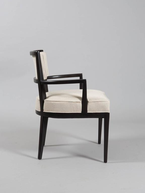 American Pair of Tommi Parzinger Armchairs For Sale