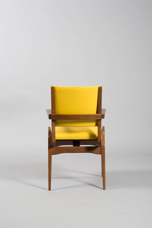 Mid-Century Modern French Mid-Century Armchairs For Sale