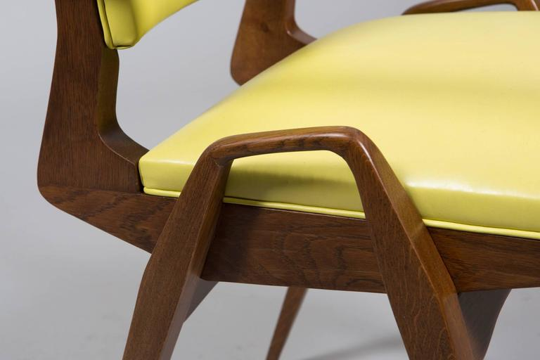 French Mid-Century Armchairs For Sale 3