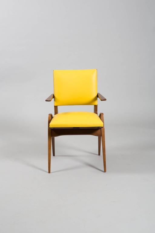 Mid-20th Century French Mid-Century Armchairs For Sale
