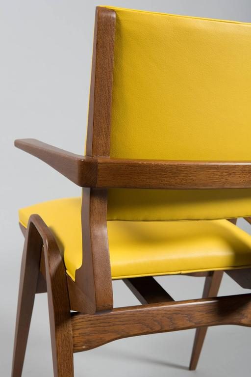 French Mid-Century Armchairs For Sale 5