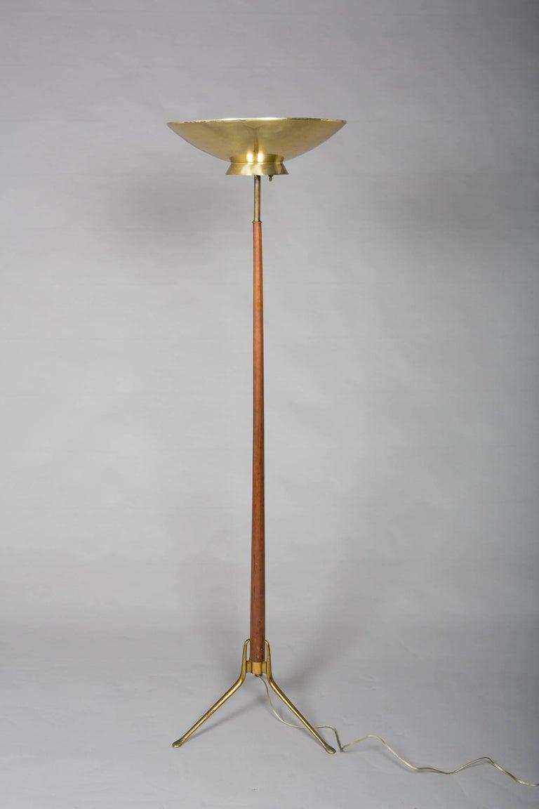 1950s Mid-Century Modern Italian Floor Lamp For Sale 5