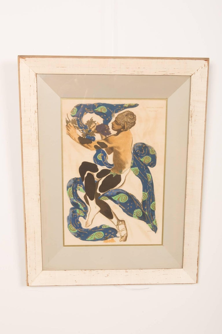 American Pair of Silk Screens by Influential Leonard Pytlak For Sale