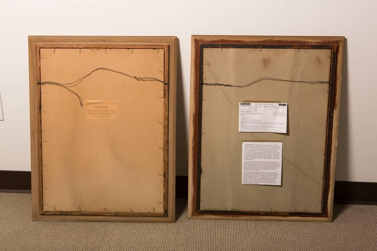 Pair of Silk Screens by Influential Leonard Pytlak For Sale 3