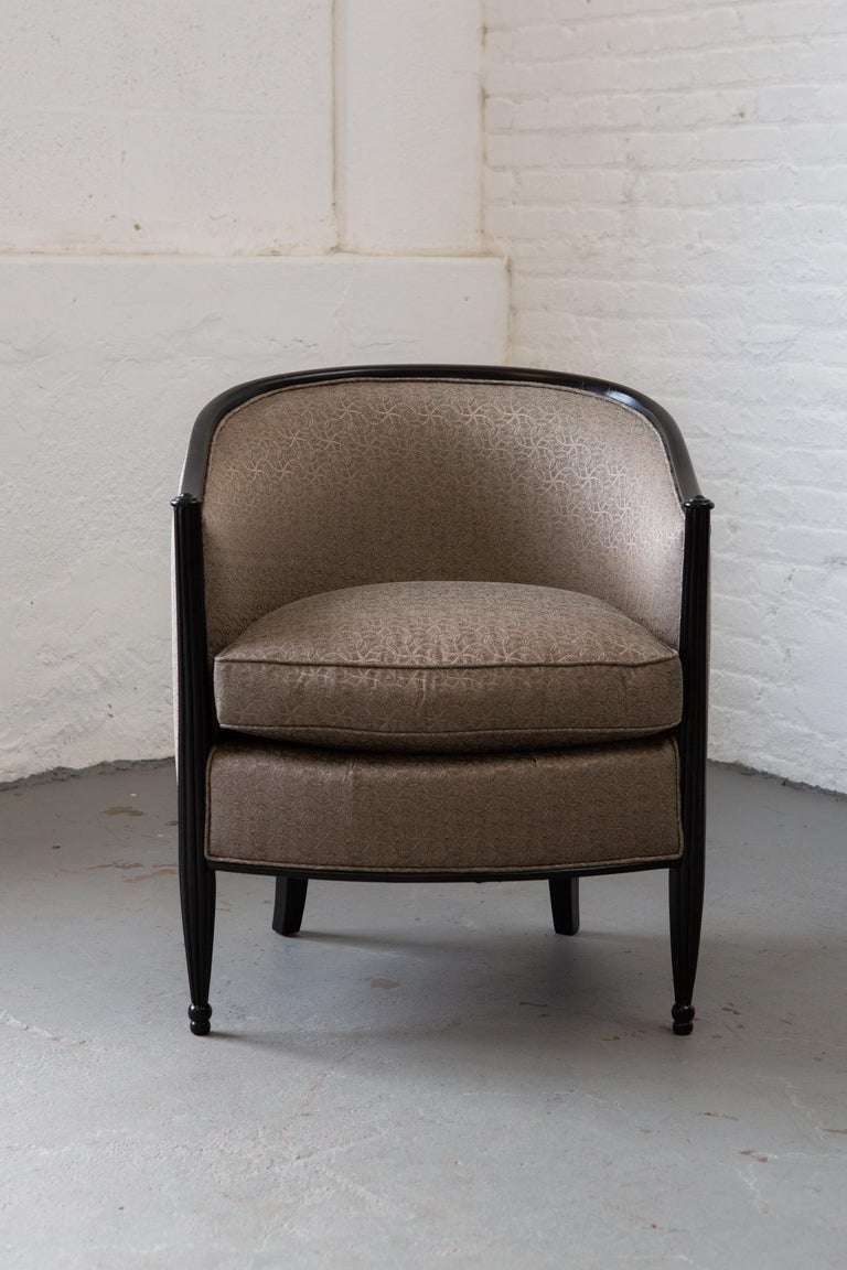 French Art Deco Tub Chair For Sale 2