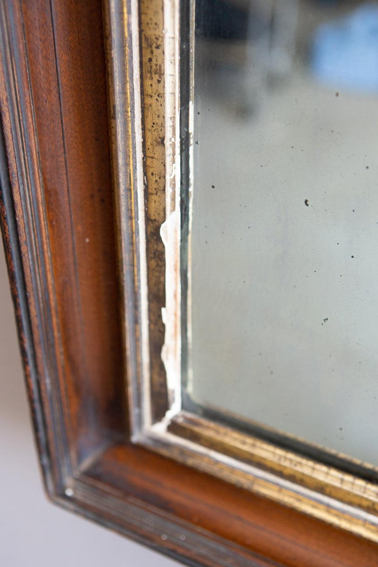 19th Century American Mirror with Antique Glass For Sale 4