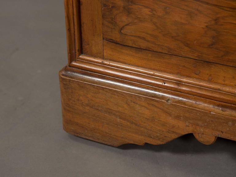 19th Century Charles X Commode with Marble Top For Sale