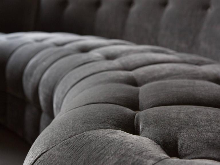 Midcentury Tufted Sectional 5