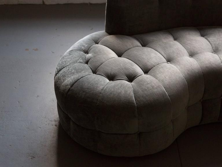 Midcentury Tufted Sectional 3