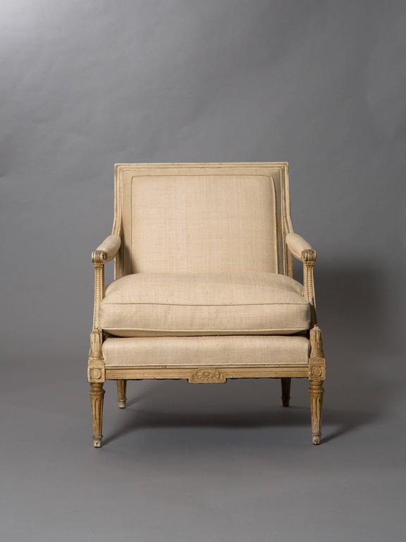 French Louis XVI Style Bergere 2