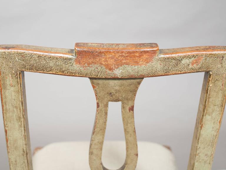 Pair of Neoclassical Italian Side Chairs 5