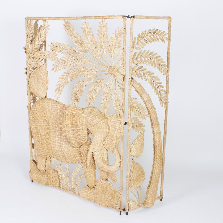 Folky Mario Torres Three-Panel Folding Screen 1