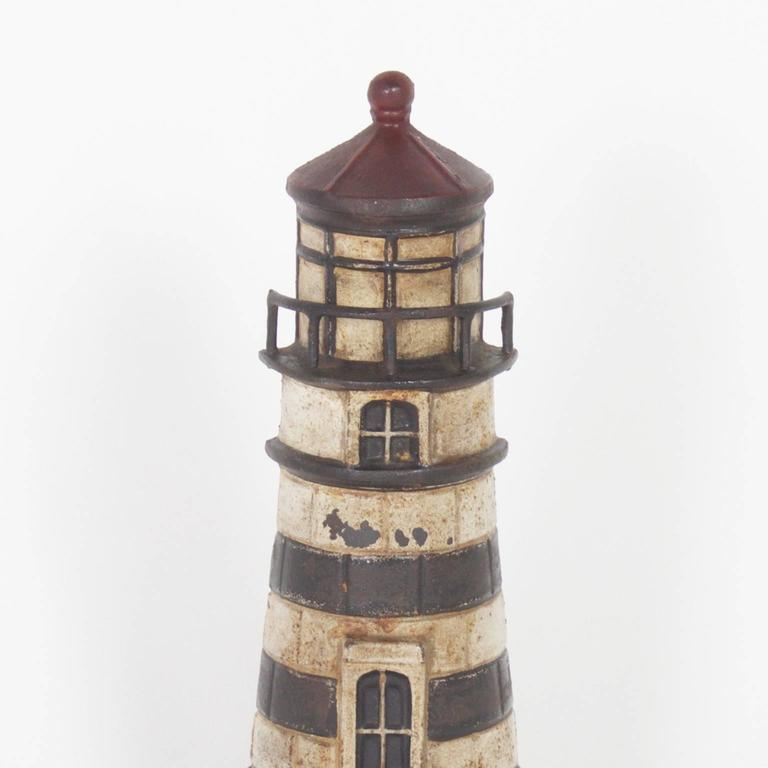 Antique Cast Iron Lighthouse Door Stop 2 : lighthouse door - pezcame.com