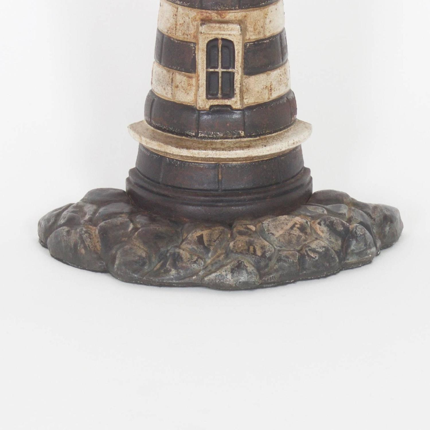 Antique Cast Iron Lighthouse Door Stop For Sale At 1stdibs