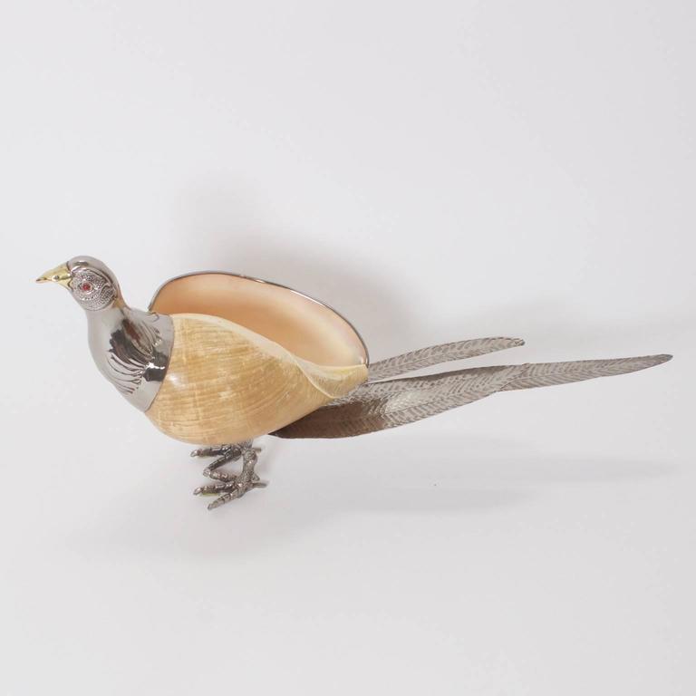 Italian Mid-Century Binazzi Style Bird Sculpture For Sale