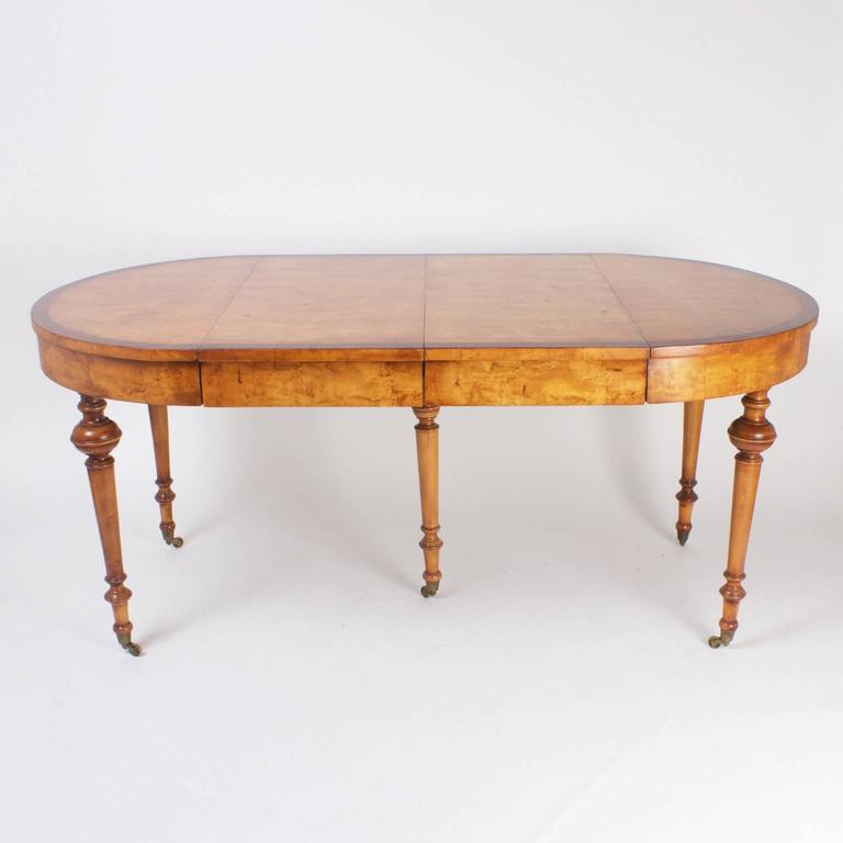 Napoleon III Expandable Dining Table with a Rare Burled  : frenchdiningtable36701l from www.1stdibs.com size 768 x 768 jpeg 25kB