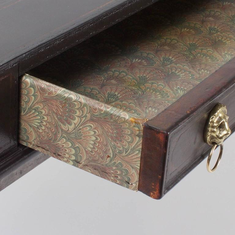 Handsome Neoclassical Style Desk or Writing Table 5