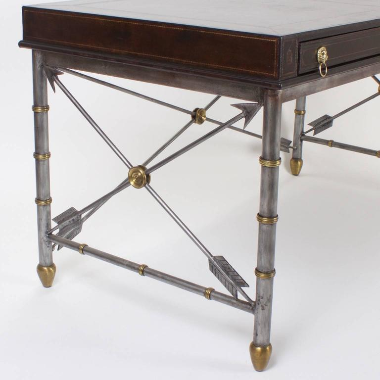 Handsome Neoclassical Style Desk or Writing Table 3
