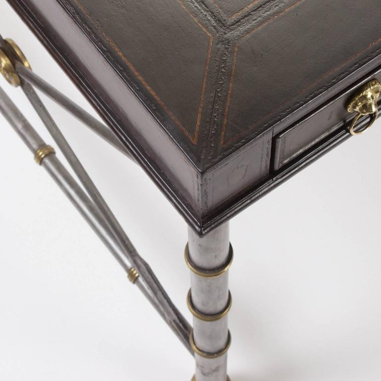 Handsome Neoclassical Style Desk or Writing Table 6
