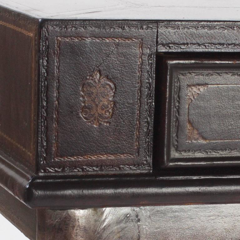 Handsome Neoclassical Style Desk or Writing Table 7