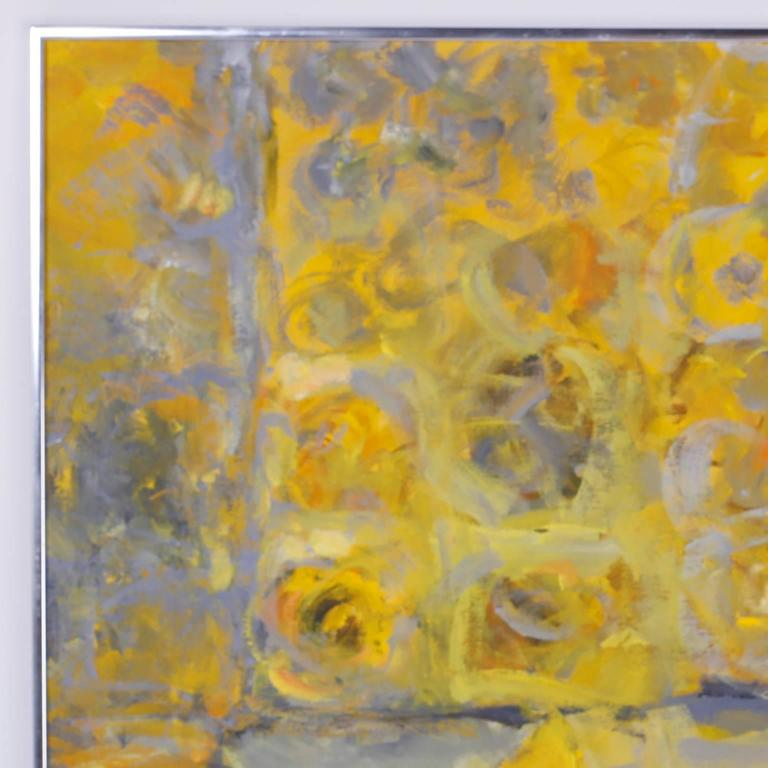Mid Century Modern Abstract Acrylic Painting