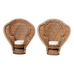 Pair of Peacock Chairs, Best of the Genre