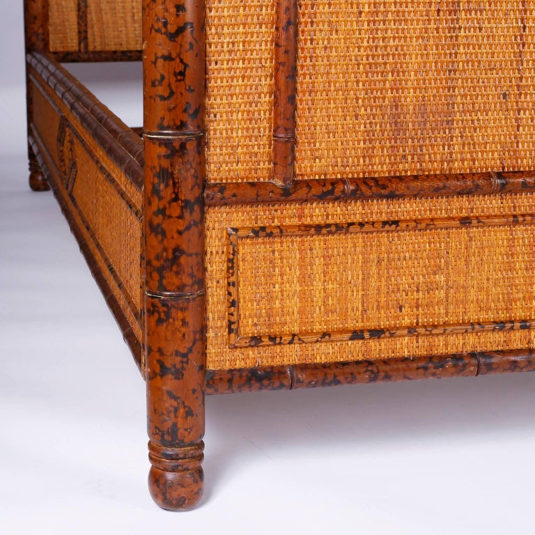 Faux Bamboo King Size Bed For Sale At 1stdibs