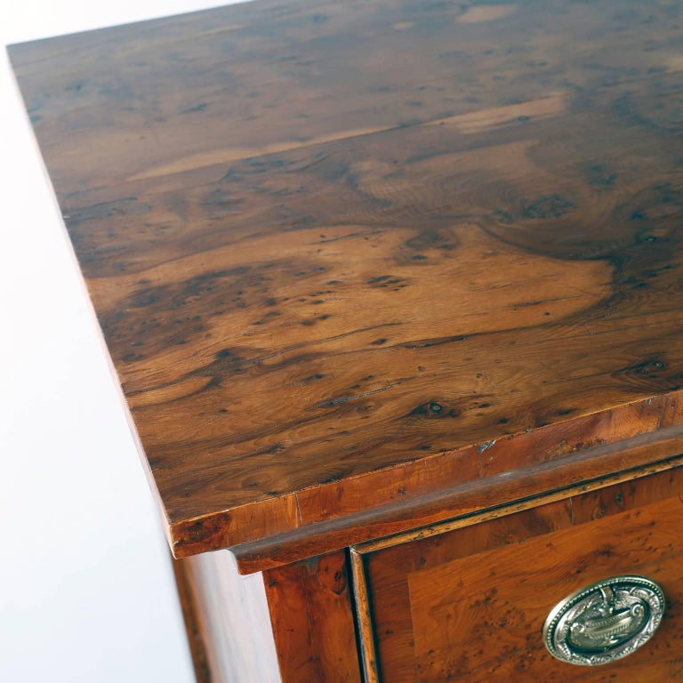Antique English Tall Chest of Drawers In Excellent Condition For Sale In Palm Beach, FL
