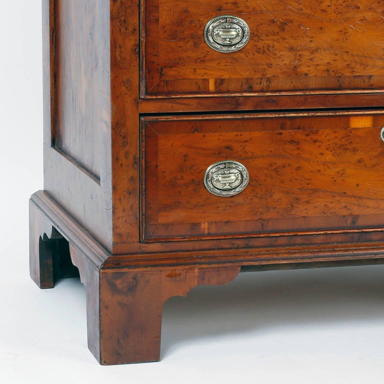 Antique English Tall Chest of Drawers For Sale 3