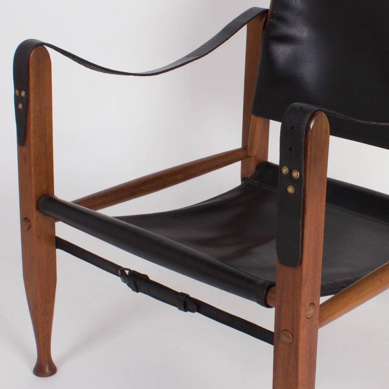 Safari Chair And Ottoman For Sale At 1stdibs