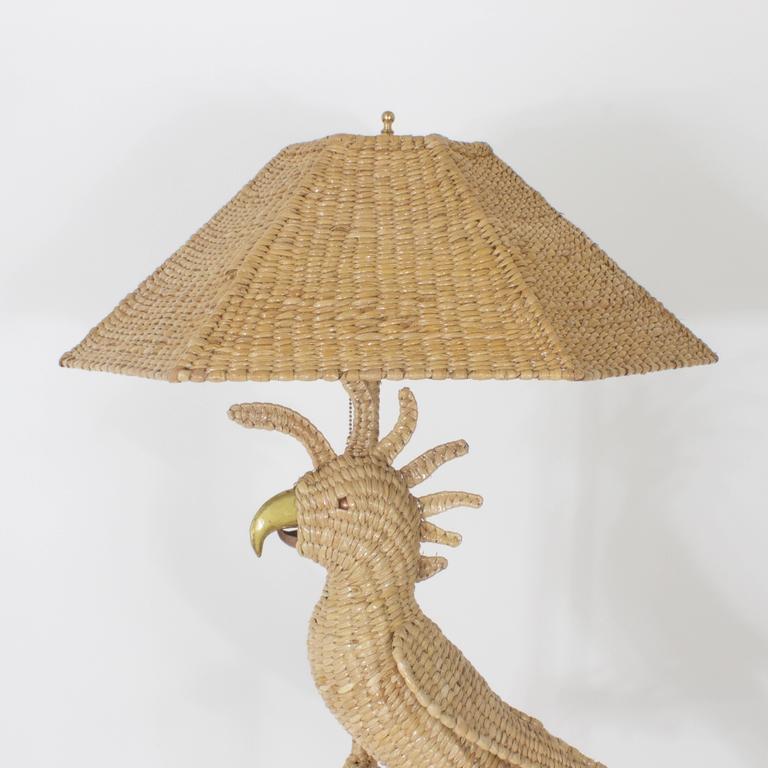 Mario Torres Cockatoo Floor Lamp 5
