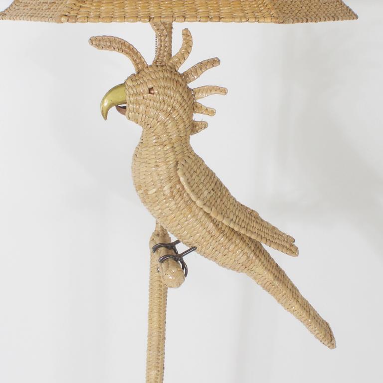 Mario Torres Cockatoo Floor Lamp 4
