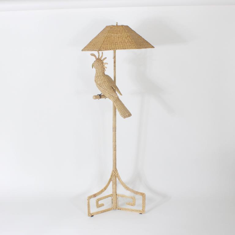 Mario Torres Cockatoo Floor Lamp 3