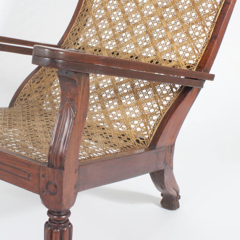 Planters Chairs: 19th Century Planters Or Plantation Chair At 1stdibs