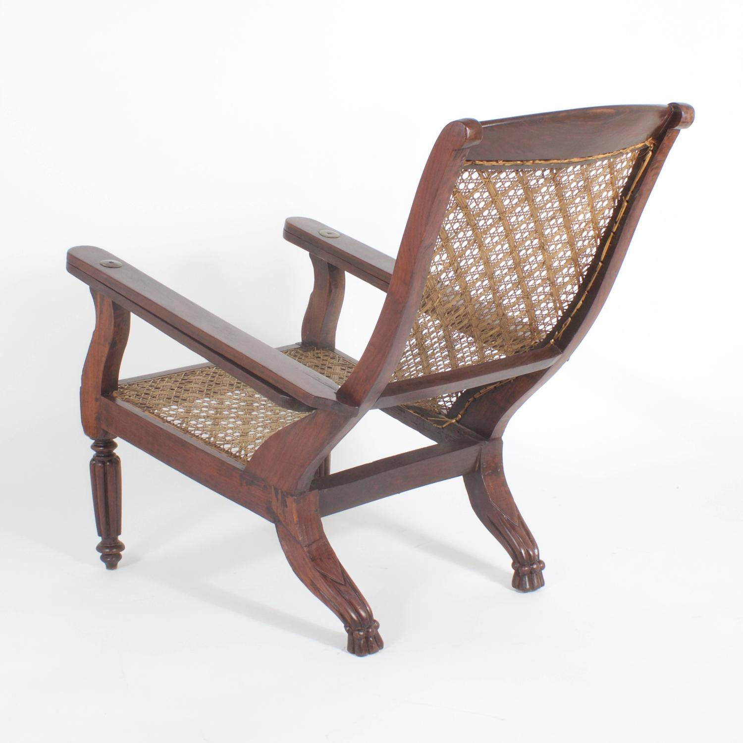 Planters Chairs: 19th Century Planters Or Plantation Chair For Sale At 1stdibs