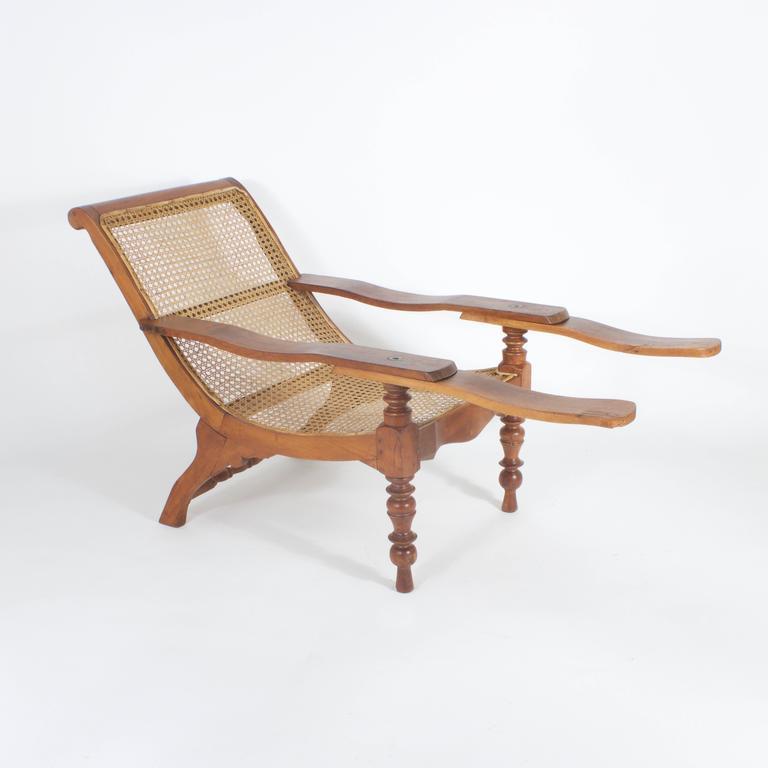 Planters Chairs: Antique Mahogany Plantation Chair At 1stdibs