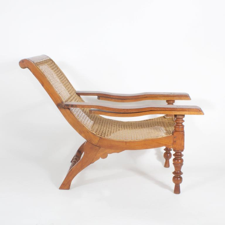 Antique Mahogany Plantation Chair 3 - Antique Mahogany Plantation Chair For Sale At 1stdibs