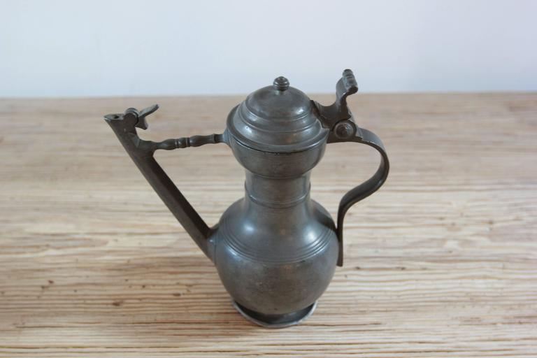 Various vintage Pewter Steins.
